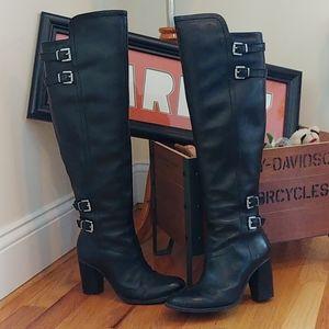 Adrienne Vittadini knee high heeled boot